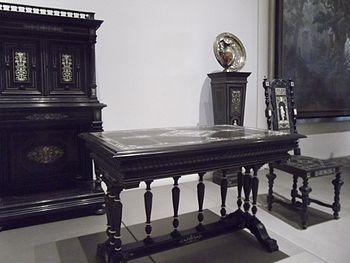 mobilier de style henri ii ralis vers 1880