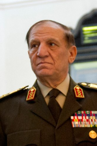 Supreme Council of the Armed Forces - Lieutenant General Sami Hafez Anan, former Deputy Chairman of SCAF from 11 February 2011 until its dissolution on 30 June 2012