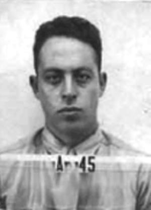 Samuel T. Cohen - Samuel T. Cohen, Los Alamos identification badge photo