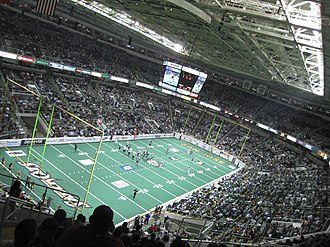 San Jose SaberCats - SaberCats in a 2007 game