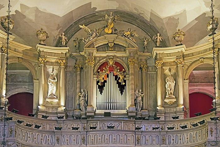 San Rocco Venezia (Interno) - Organo di Gaetano Callido