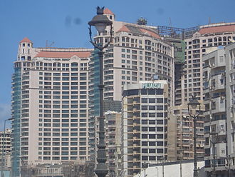 San Stefano Grand Plaza - San Stefano Grand Plaza during the final preparations for opening, 2006