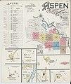 Sanborn Fire Insurance Map from Aspen, Pitkin County, Colorado. LOC sanborn00951 002-1.jpg