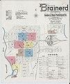 Sanborn Fire Insurance Map from Brainerd, Crow Wing County, Minnesota. LOC sanborn04263 002-1.jpg