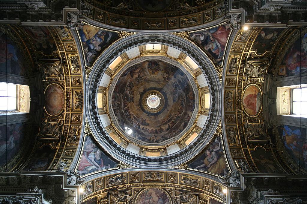 Santa Maria Maggiore, cappella Paolina cupola.JPG