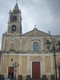 Santa Maria dell'Indirizzo Church, dating from the 15th century.