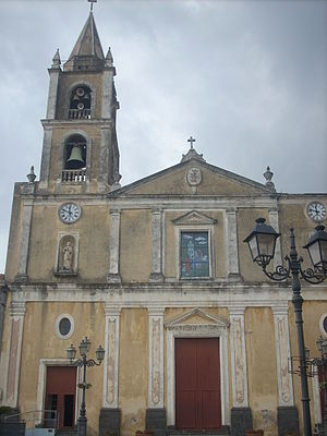 Aci Bonaccorsi - Santa Maria dell'Indirizzo Church, dating from the 15th century.