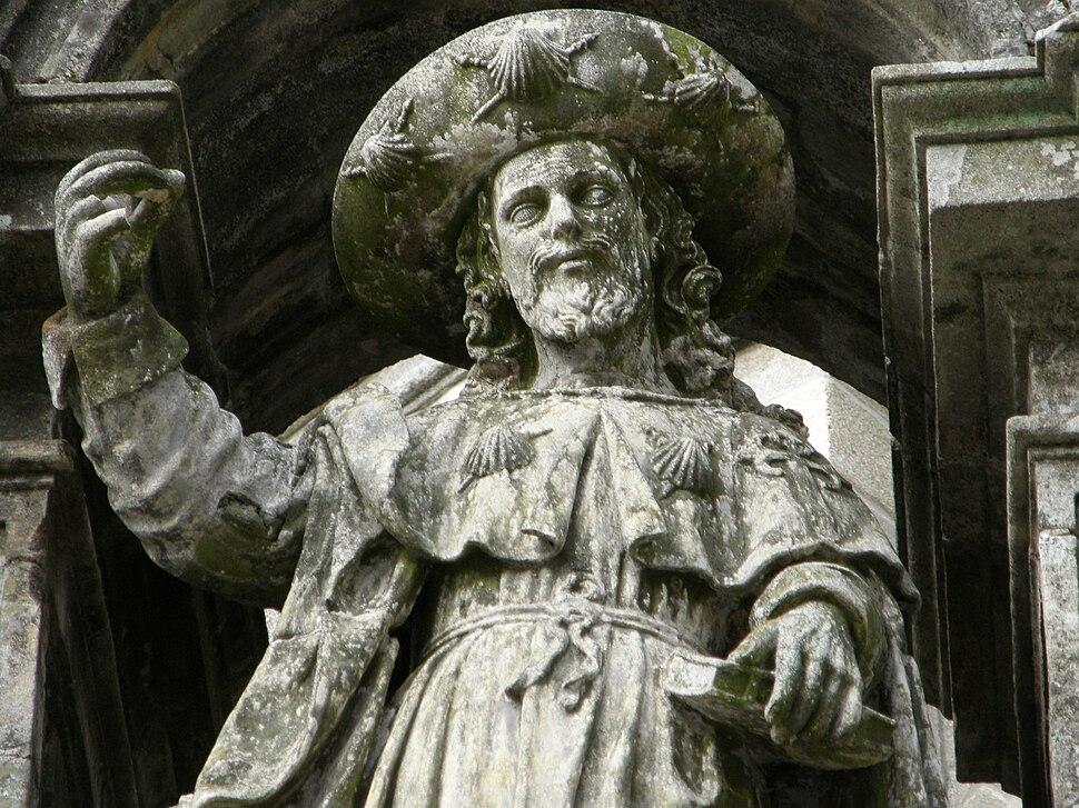 Santiago de Compostela, O apóstolona Catedral
