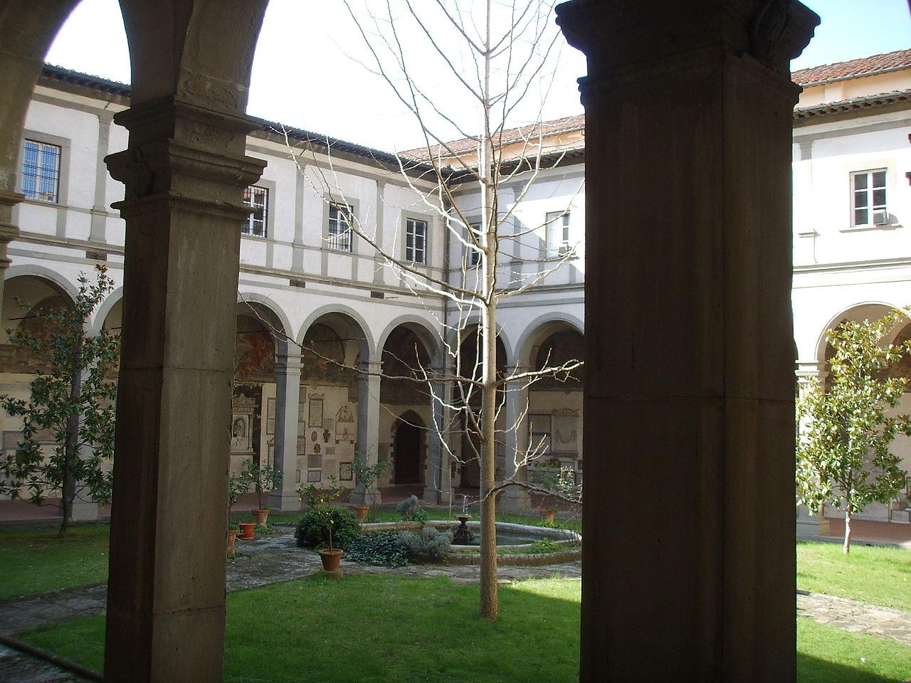 Chiostro dei Morti, Basilica Santa Maria del Santo Spirito, Firenze