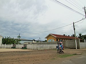 Neves, São Tomé and Príncipe - The area of the town of Neves
