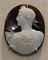 Sardonyx cameo portrait of the emperor Augustus.JPG