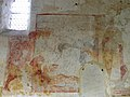 Sargé-sur-Braye (41) Église Saint-Martin Fresques Mur septentrional 03.JPG