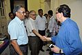 Saroj Ghose Shake Hands with Sugata Bose - BITM - Kolkata 2015-05-09 6472.JPG