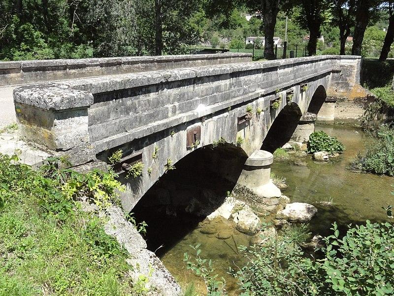 Saucourt, pont du Rognon, les arcs