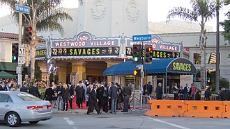 Savages (2012 film) - The red-carpet premiere at Fox Village Theater on June 25, 2012.