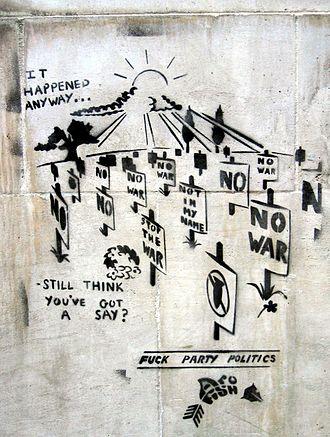 Public sphere - Image: Sblondon elecgraffiti 05