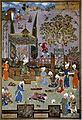 Scene illustrating a story in Nizami's Khamsa. Wellcome M0005479.jpg