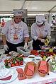 Schlesische Köche bei der Zubereitung von Speisen. 2013..JPG