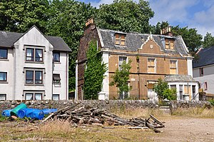 "Lamlash - Abandoned villa ""The Lookout"""