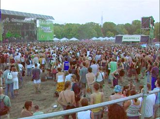 Sziget Festival - Sziget 2003 main stage