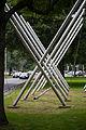 Sculpture Avenue K Kenneth Snelson Leibnizufer Hanover Germany 01.jpg