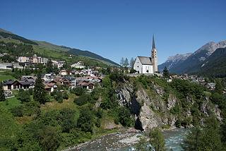 Scuol Place in Graubünden, Switzerland