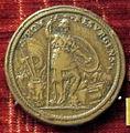 Scuola romana, medaglia di paolo IV, roma resurgens.JPG