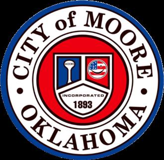 Moore, Oklahoma - Image: Seal of Moore, Oklahoma