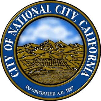 National City, California - Image: Seal of National City, California