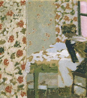 The Seamstress (painting) - Image: Seamstress by Edouard Vuillard