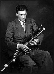 Séamus Ennis em 1955