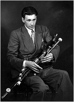Séamus Ennis - Séamus Ennis in 1955