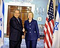 Secretary Clinton Holds Bilateral With Israeli Defense Minister Barak (4727935703).jpg