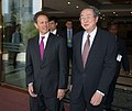 Secretary Geithner and People's Bank of China Governor Zhou Xiaochuan, following a working lunch on May 23, 2010 in Beijing.jpg
