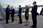 Secretary Kerry Chat With Danish Foreign Minister Jensen Upon His Arrival to Denmark (27636522751).jpg