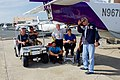 Secretary Kerry Chats with Staff on the Tarmac of the International Airport in San Juan, Puerto Rico (28468646680).jpg