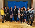 """Secretary Pompeo and Spokesperson Ortagus Attend a U.S. Embassy Event on """"Women in Media"""" (49416874246).jpg"""