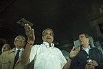 Secretary of Defense Ash Carter tours the USS Dwight D. Eisenhower with Indian Minister of Defense Manohar Parrikar.jpg