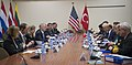 Secretary of Defense James Mattis meets with Turkish Minister of National Defense Fikri Isik at the NATO Headquarters in Brussels, Belgium, February 15, 2017 (32540948180).jpg