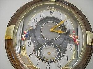 Seiko musical wall clock, Jakarta.