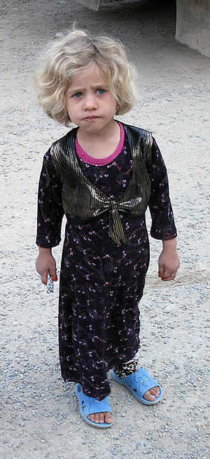 Guran (Kurdish tribe) - A Gurani child in Kurdish costume
