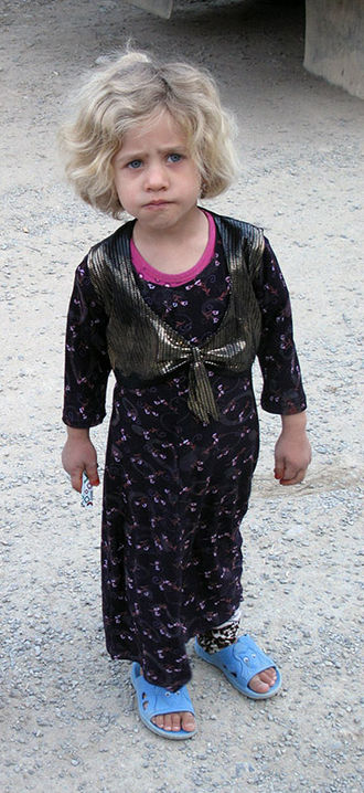 Hawraman - A Hawrami child in Kurdish costume