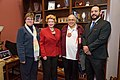 Senator Stabenow meets with representatives of the United Tribes of Michigan (32090362343).jpg