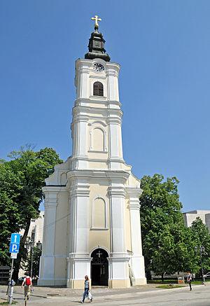 Stari Grad, Novi Sad - Image: Serbia 0304 The Dormition of the Virgin Mary Church