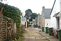 Service road behind Albany Terrace, St Ives - geograph.org.uk - 1702913.jpg