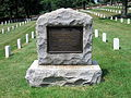 Seventh Ohio Regimental Association Memorial at Culpeper National Cemetery.JPG