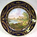 Sevres.plate.('service.des.fleuves.et.rivieres.de.france').(most.of.set.originally.sent.to.french.embassy.in.istanbul).(c.1847).(painted.&.signed.by.Polycles.Langlois).(9.5.in).(private.collection).jpg
