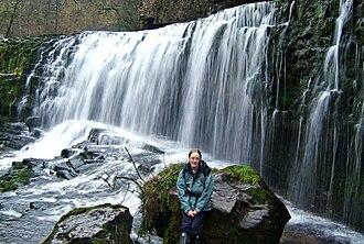 Waterfall Country (Wales) - Sgwd Isaf Clun-gwyn