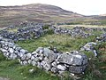Sheep fank by the new path - geograph.org.uk - 658317.jpg