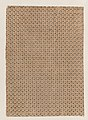Sheet with overall pattern of dots and ovals Met DP886698.jpg